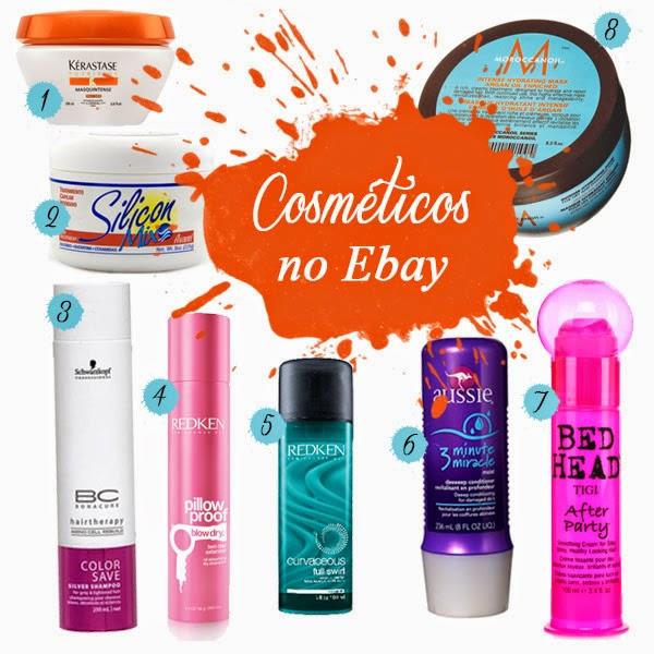 Dica: Compras de produtos para cabelo no Ebay