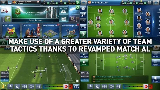 PES CLUB MANAGER Apk + Data for android