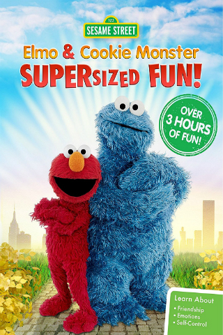 Sesame Street: Elmo and Cookie Monster Supersized Fun! [2016] [DVDR] [NTSC] [Subtitulado]