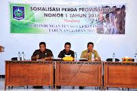Sosialisasi Perda Nomor 1 Tahun 2016 Provinsi NTB Tentang Perlindungan Tenaga Kerja