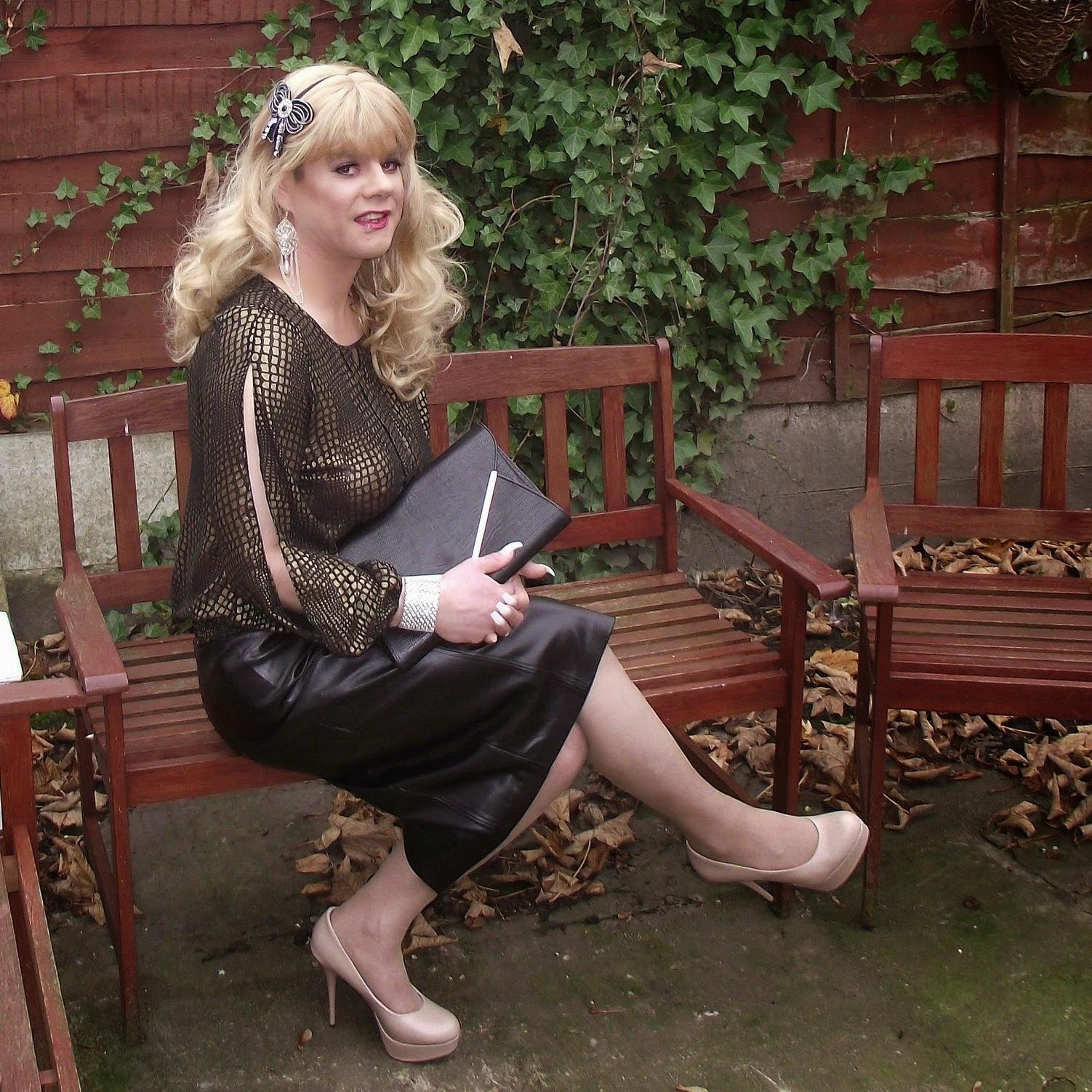 Flickr: Tgirls On Flickr: Carol In Elegant Outfit