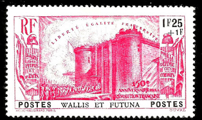 Wallis & Futuna the storming of the Bastille
