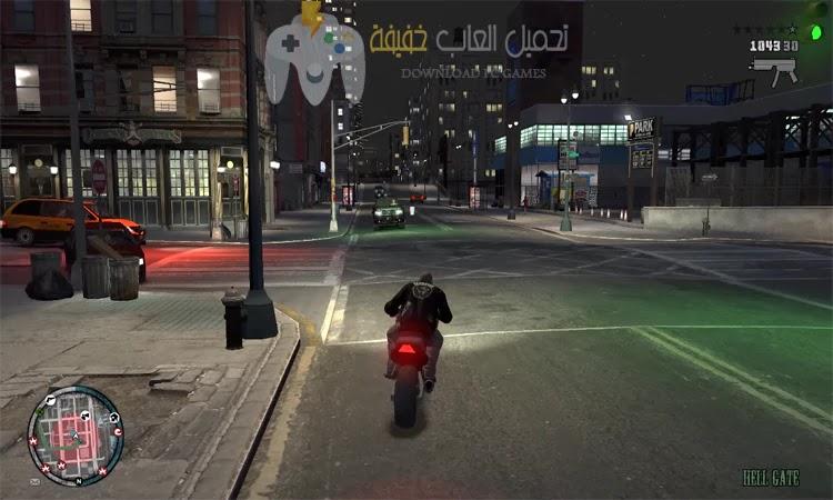 تحميل لعبة GTA IV للكمبيوتر من ميديا فاير برابط مباشر