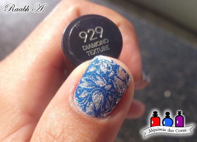 Revlon, Nails, Revlon 929 Diamond Texture, Moyou Flower Power 12, Esmalte, Unhas, Unhas Decoradas, Nail Art, Prata, Esmalte Texturizado, Liquid Sand, Glitter, Hits azul marine, carimbada, unhas carimbadas