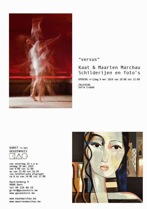 Opening Tentoonstelling Versus Van Maarten En Kaat Marchau