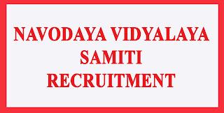 Navodaya Vidyalaya Recruitment