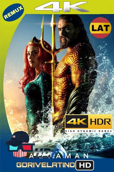 Aquaman (2018) IMAX BDRemux 4K HDR Latino-Ingles MKV