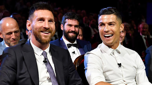 Messi-Ronaldo double at  Juventus will be a BOOM - Rivaldo