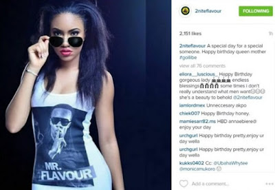 Musician Flavour Celebrates His Babymama Anna Banner As She Turns 21