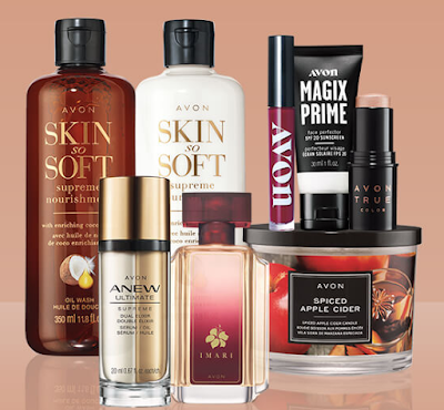 Avon wants you to be all ready for Autumn, so they're giving you a chance to enter once to win their fall collection including makeup, scents just for fall and more!