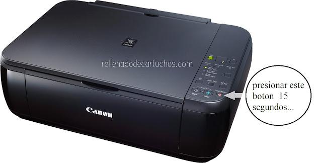 Pasos para resetear impresora Canon MP280