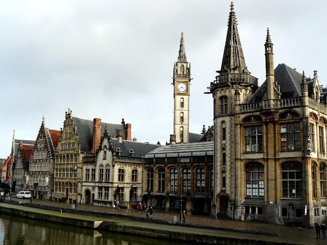 Casas de los gremios de Gante