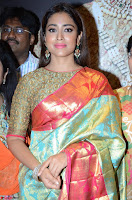 Shriya Saran Looks Stunning in Silk Saree at VRK Silk Showroom Launch Secundrabad ~  Exclusive 055.JPG