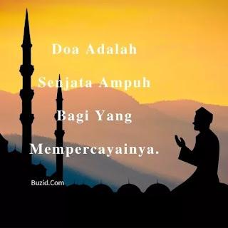 doa adalah senjata ampuh