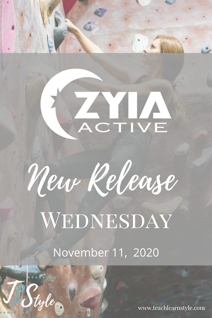 Zyia Active new releases, leggings, tanks, jackets, pajamas, mens shirts
