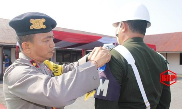 Polres Barsel Gelar Apel Pasukan Operasi Patuh Telabang 2019