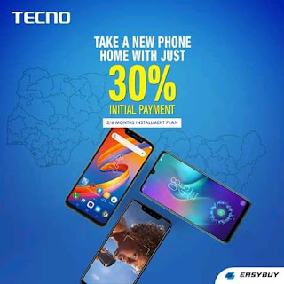 Own a tecno android phone without paying full payment