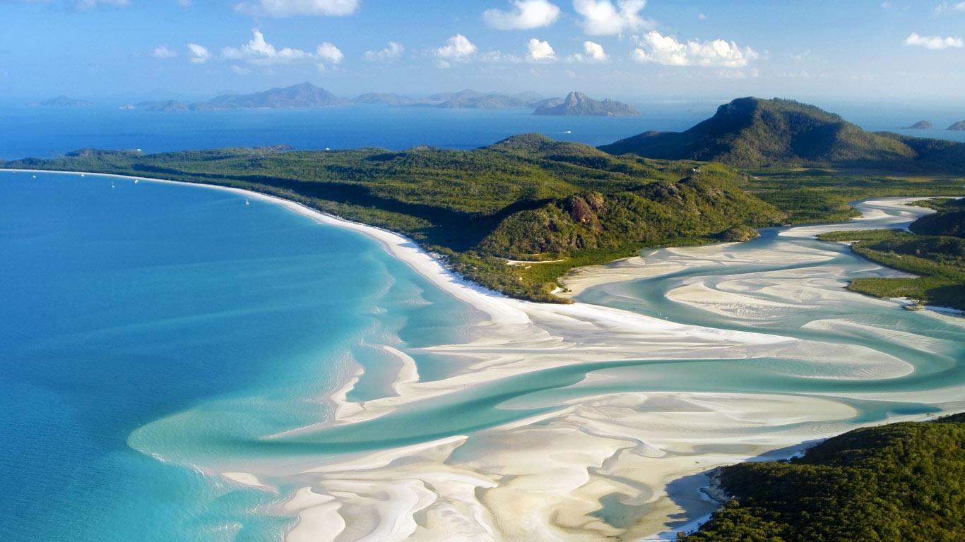 Islands Of Australia: Elle's Travel Bag: Whitehaven Beach, Australia