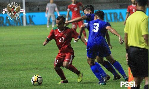 Timnas Indonesia U-23 vs Thailand Imbang 0-0