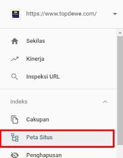 cara submit sitemap ke google webmaster tool