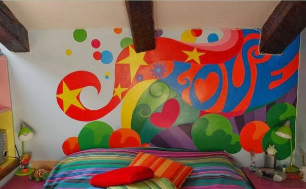 Bedroom Design Funky and Retro ~ Home Inspirations