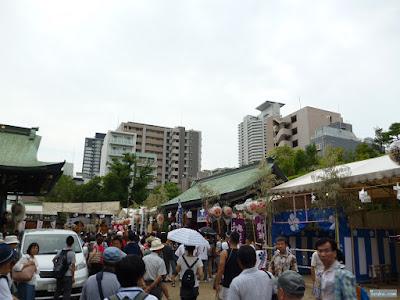 大阪天満宮の境内
