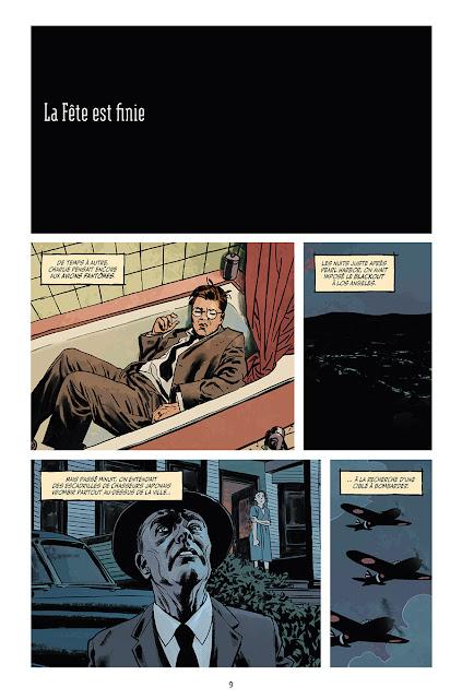 """page de """"Fondu au Noir"""" de Sean Phillips et Ed Brubaker chez Delcourt"""
