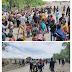 Blokir Akses ke Freeport, Warga Tiga Kampung Tuntut Dipulangkan dengan Fasilitas Rumah Seadanya
