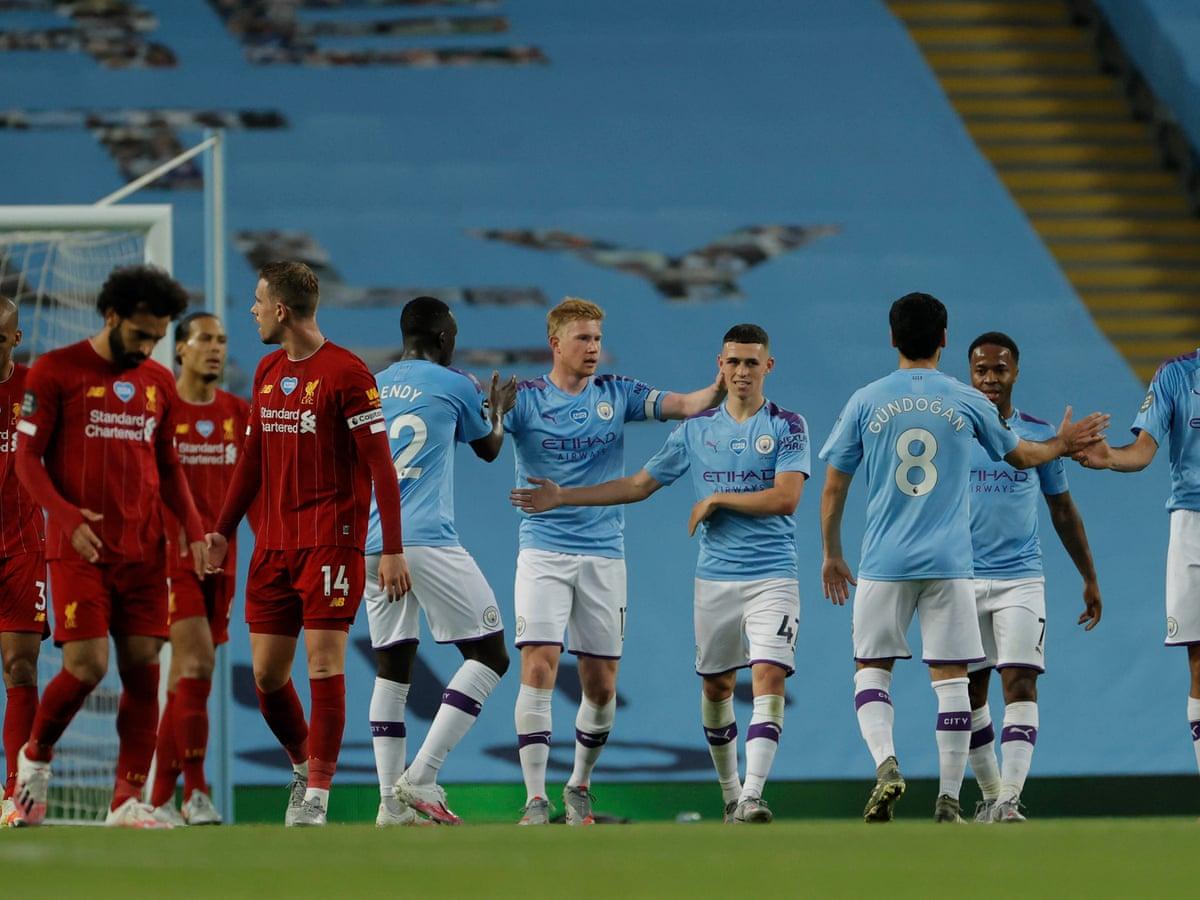 تشكيلة مانشستر سيتي ضد ليفربول اليوم 2020/11/8 في قمة الجولة الثامنة من الدوري الإنجليزي