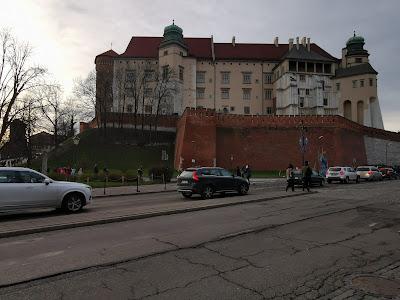 krakow poland castel street