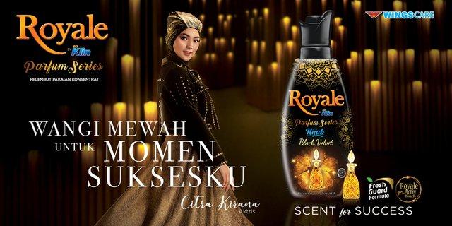 Profil Brand Ambassador Pewangi Royale