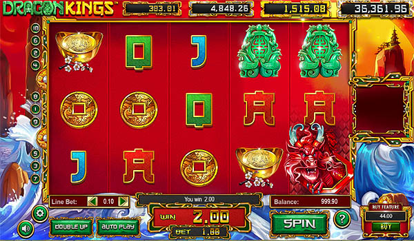Main Gratis Slot Indonesia - Dragon Kings Betsoft