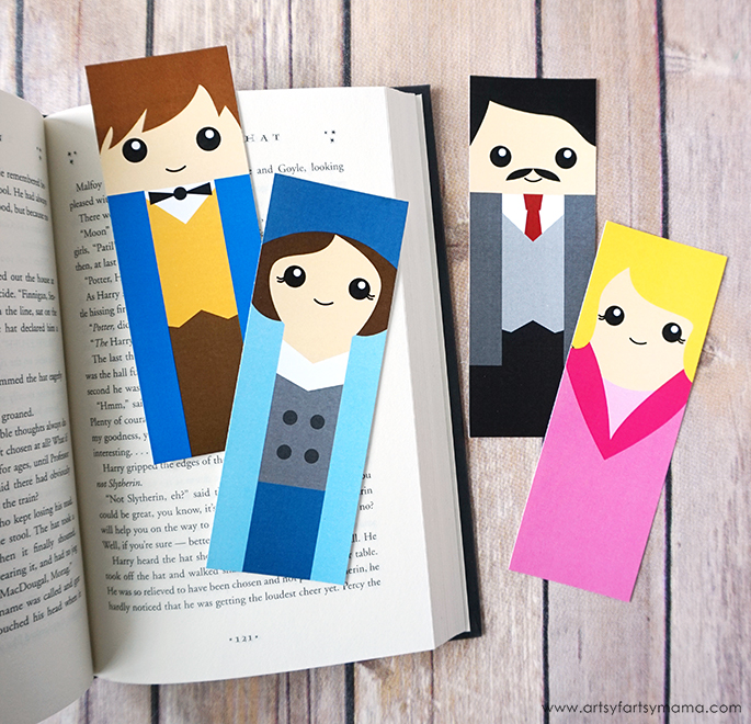 Free Printable Fantastic Beasts Character Bookmarks