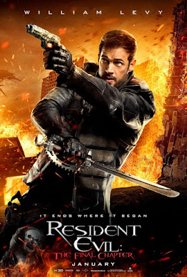 Resident Evil: The Final Chapter William Levy Poster