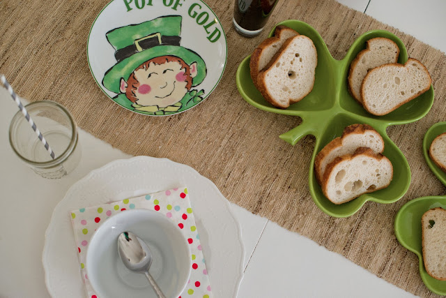 Saint Patrick's Day Tablescape