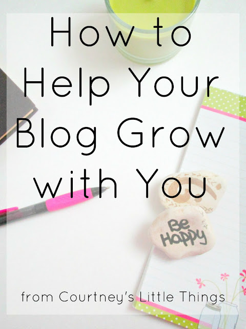 4 Steps to Help Your Blog Change With You
