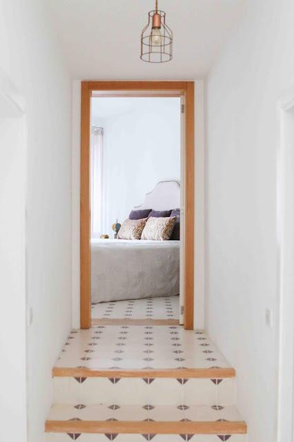 escadas acesso quartos decoradora interiores Porto
