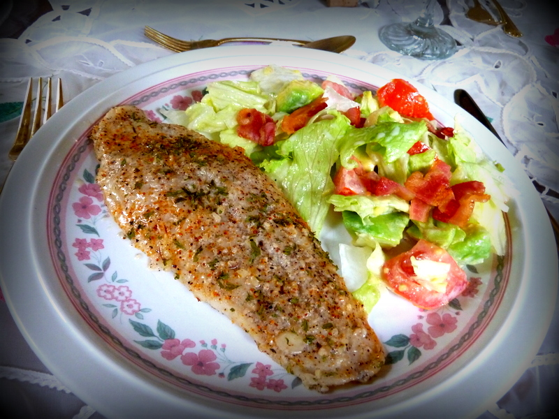 Splendid low carbing by jennifer eloff baked almond for Is swai fish good