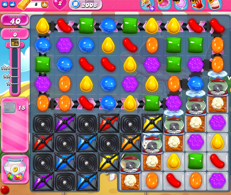 Candy Crush Saga 2008