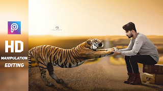 Picsart Tiger Concept Photo Editing Backgrounds And Png Download