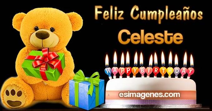 Feliz Cumpleaños Celeste