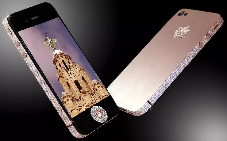 Stuart Hughes iPhone 4 Diamond Rose in Hindi