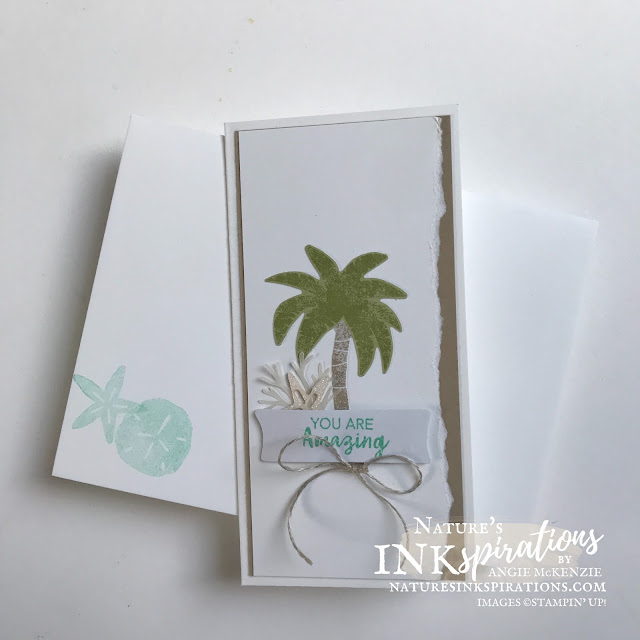 By Angie McKenzie for Crafty Collaborations Kits Collection Blog Hop; Click READ or VISIT to go to my blog for details! Featuring the A Little Smile Card Kit and Timeless Tropical Stamp Set by Stampin' Up!; #justbecausecards #thankyoucards #randomactofkindnesscards #minislimlinecards #stamping #cardkits #kitscollectionbloghop  #timelesstropicalstampset #20212022annualcatalog #simplestamping #multiplecardsmadeeasy #naturesinkspirations #makingotherssmileonecreationatatime #cardtechniques #stampinup #stampinupink #handmadecards