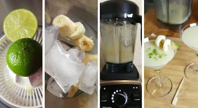 Zubereitung Frozen Banana Daiquiri
