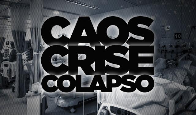 """Câmaras de gás sem gás   Brasileiros estão morrendo sufocados e sem atendimento médico, por conta do negacionismo de um presidente sociopata e irresponsável. """"Inventamos"""" as câmaras de gás sem gás... É estarrecedor!!"""
