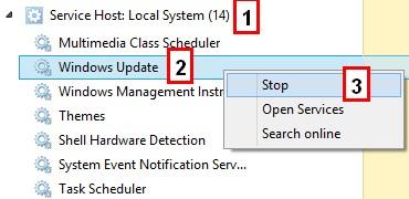 service host process windows 10