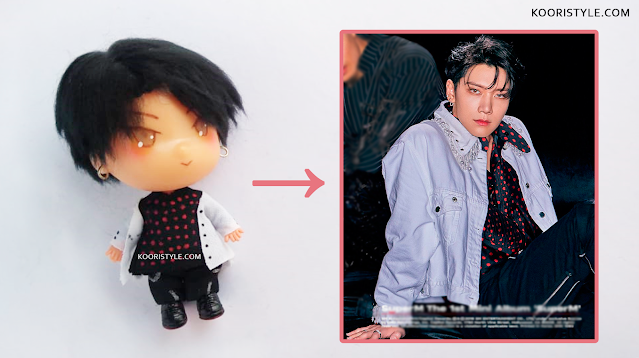 SuperM / WayV: Ten Custom Doll at http://KooriStyle.com