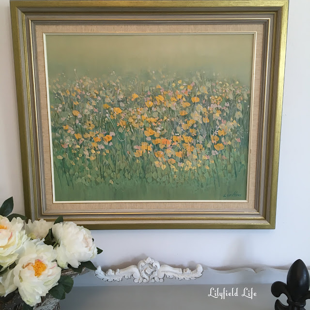 Poppies vintage artwork Lilyfield Life