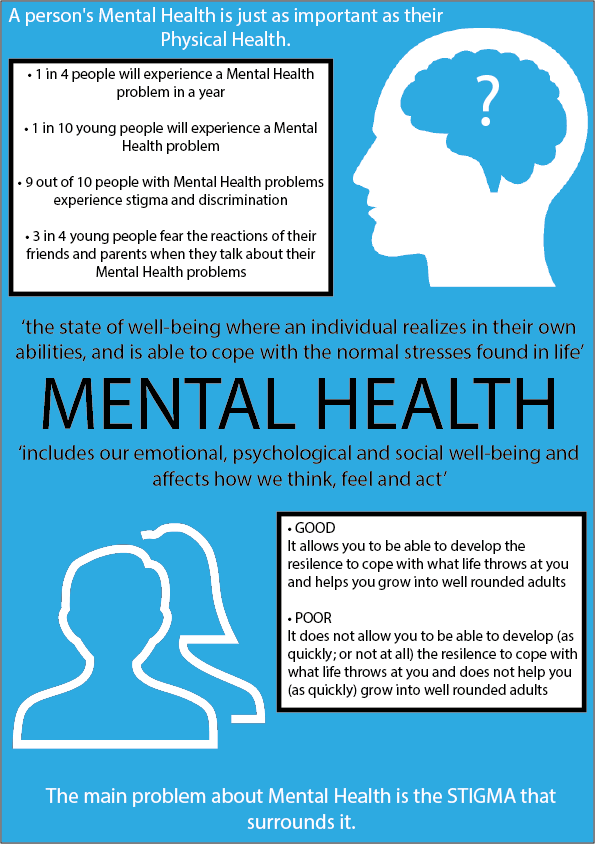 My Last Task Was To Create A Poster Design That Featured Information About Mental Health I Created Felt Unique And Also Included