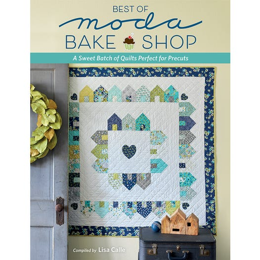 Best of Moda Bake Shop Book Featuring A Lightbulb Moment Quilt Designed By Thistle Thicket Studio. www.thistlethicketstudio.com
